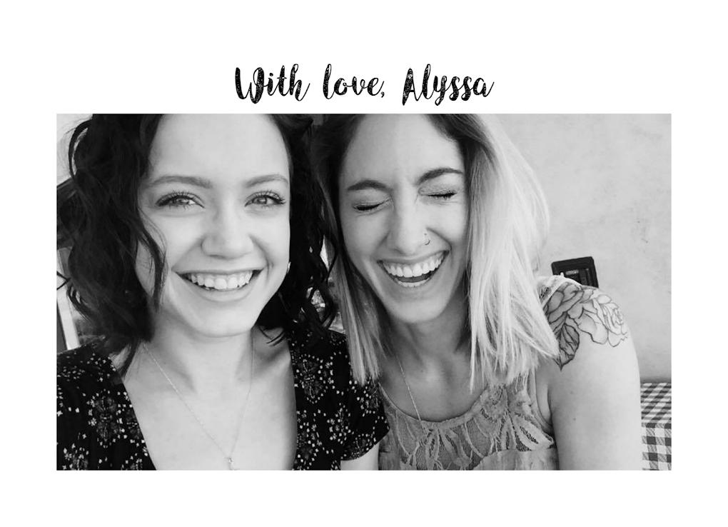 With Love, Alyssa