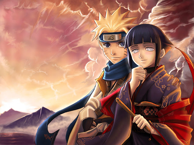 Naruto and Hinata wallpaper