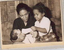 Me and my mommy {with Baby Jackie}50 years ago