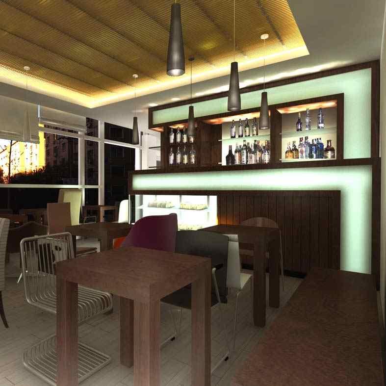 innenarchitektur design: café-interieurs, Innenarchitektur ideen