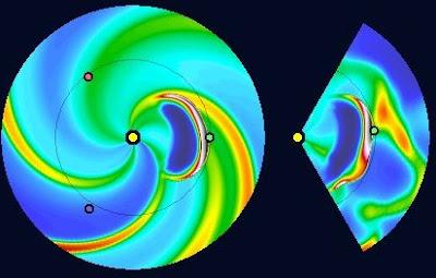 Impacto de dos eyecciones de masa coronal 12 de Noviembre 2012