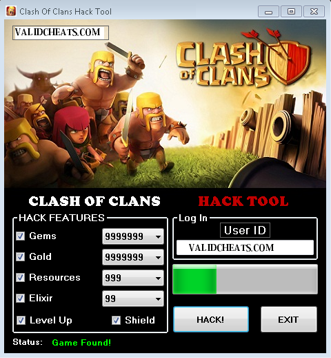 coc gem hack no app download