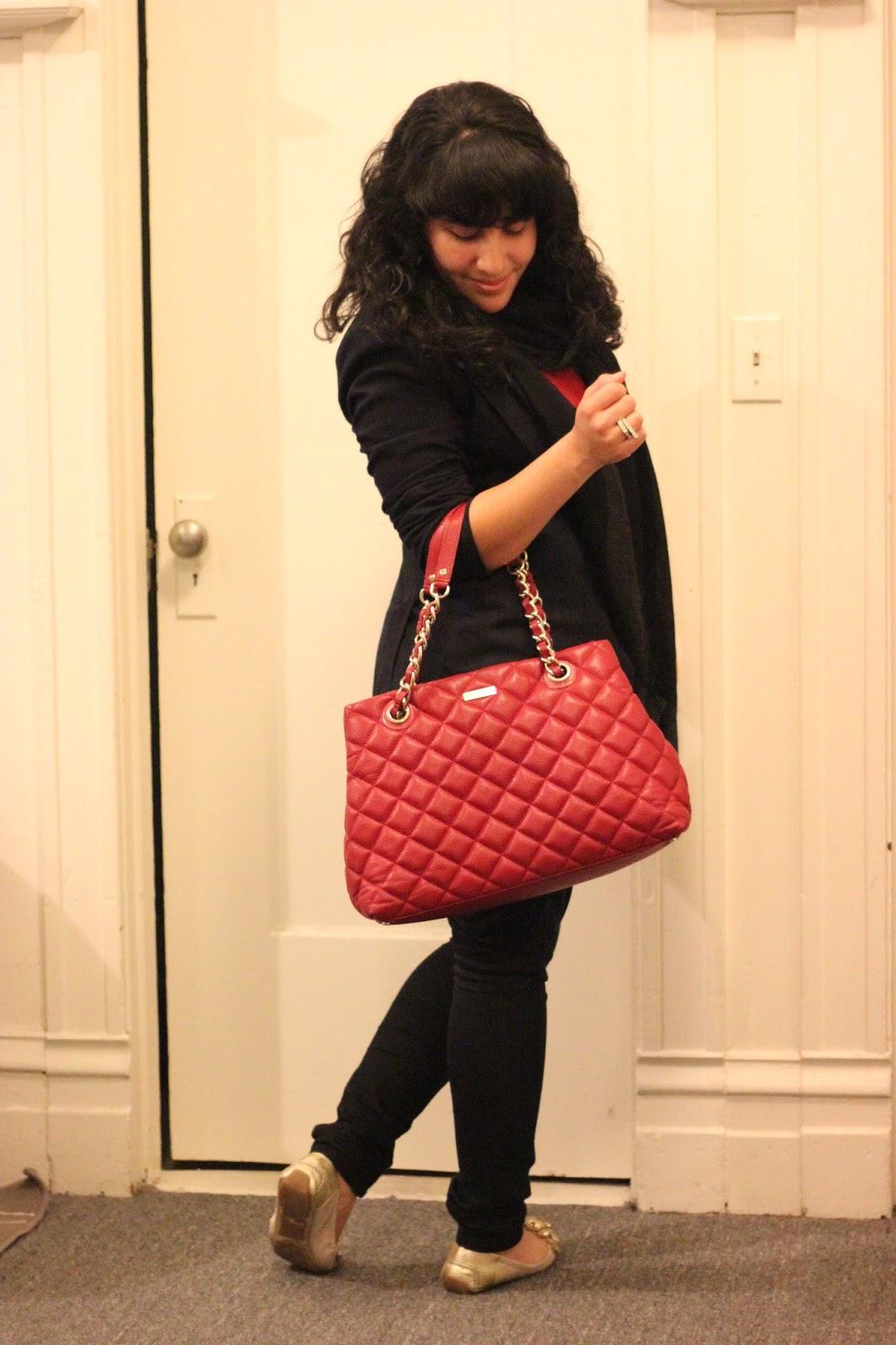 Kate Spade Purse : kate spade red quilted bag - Adamdwight.com