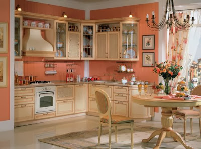 modern kitchens 2015, How to make the kitchen more cozy with their own hands