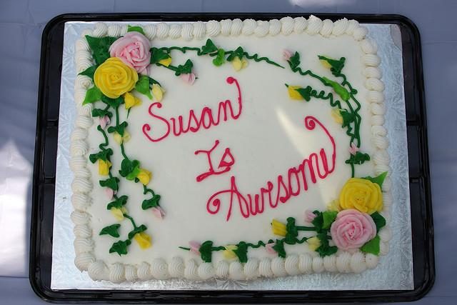 Birthday Party: Happy Birthday Susan