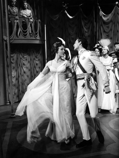 Julie Andrews and Jon Cyphe in Rodgers + Hammerstein's Cinderella