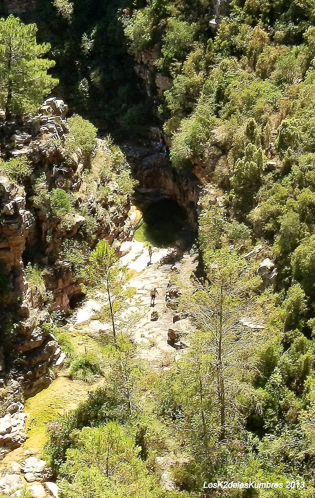 Barranco de las Salinas - Cirat
