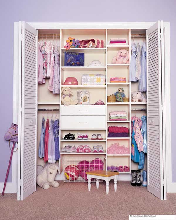 Farry Island: Closet Ideas For Small And Teenage Girls