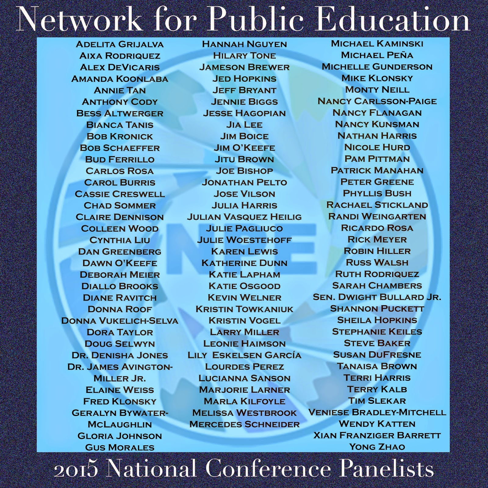 PANELISTS AT UPCOMING NPE CONFERENCE IN CHICAGO