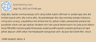 Nazim Othman Hina UKM?