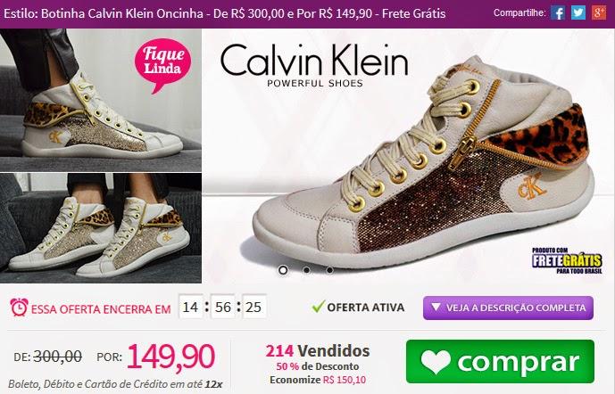 http://tpmdeofertas.com.br/Oferta-Estilo-Botinha-Calvin-Klein-Oncinha---De-R-30000-e-Por-R-14990---Frete-Gratis-854.aspx