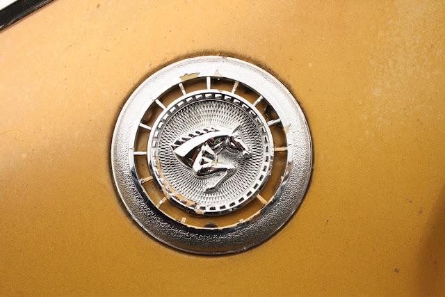 1974 Dodge Colt badge.