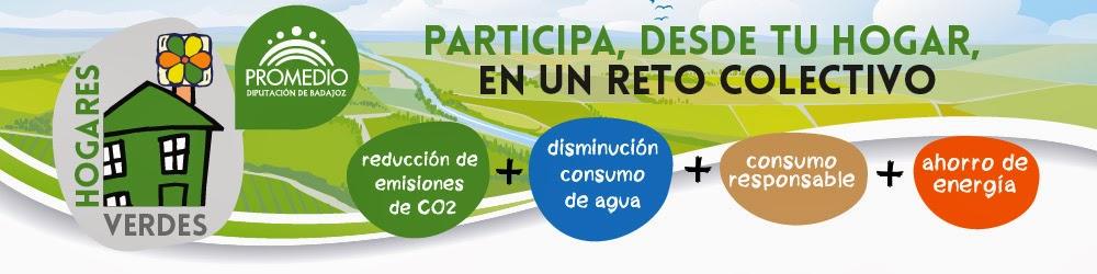 Hogares Verdes en la provincia de Badajoz