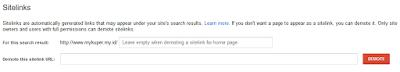 Cara membuat sitelink ampuh dan jitu terindex pencarian