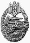 Panzer Assault Badge, Awarded in Silver and Bronze