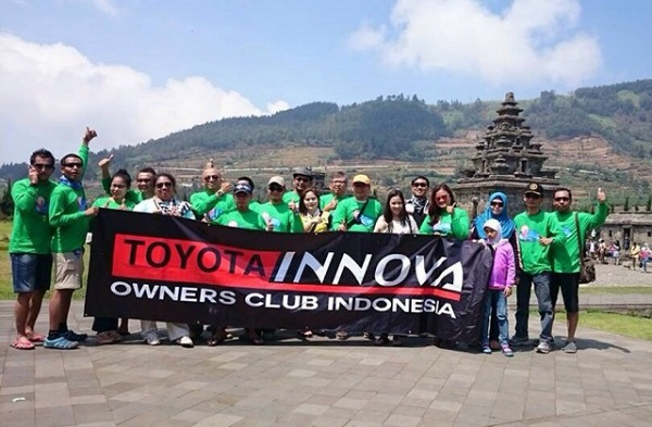 Toyota Innova Owners Club Indonesia Touring to Dieng