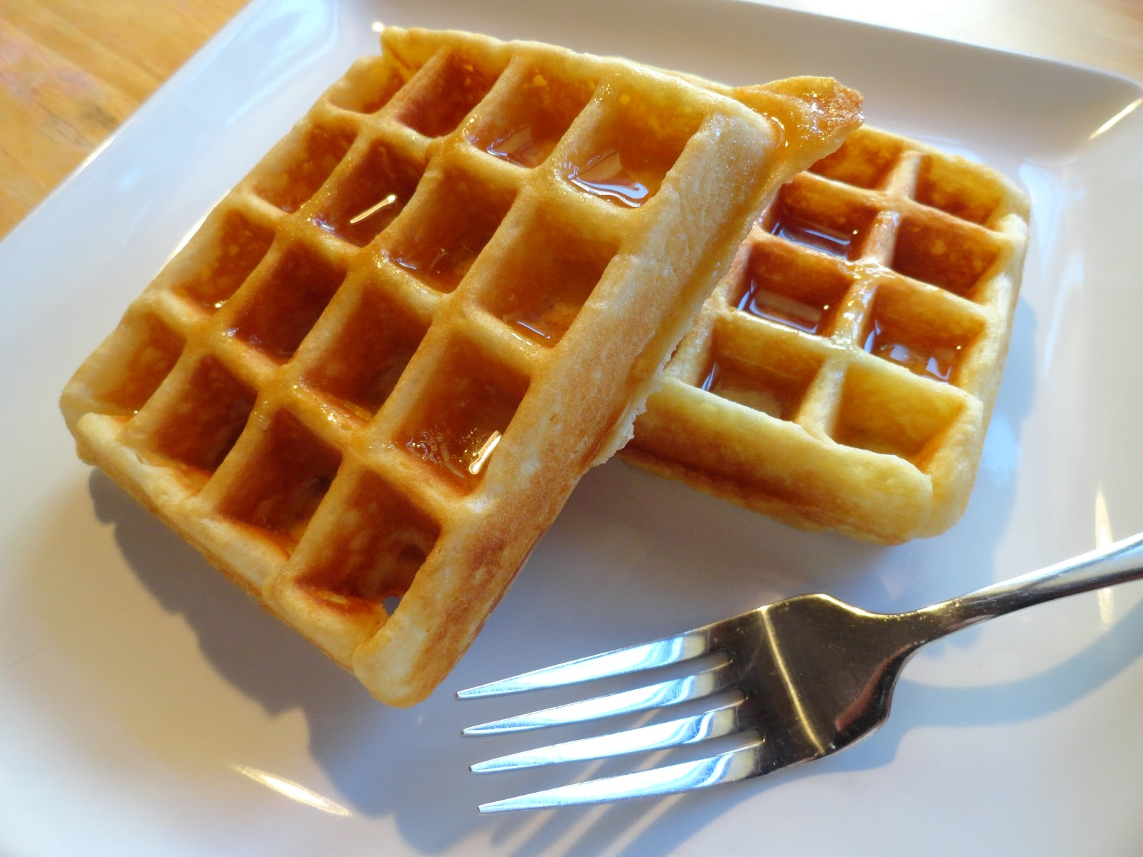 Couple in the Kitchen: Golden Goose Egg Waffles