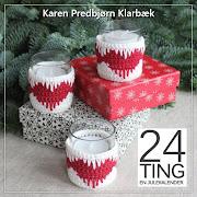 En hæklejulekalender med 24 projekter til December