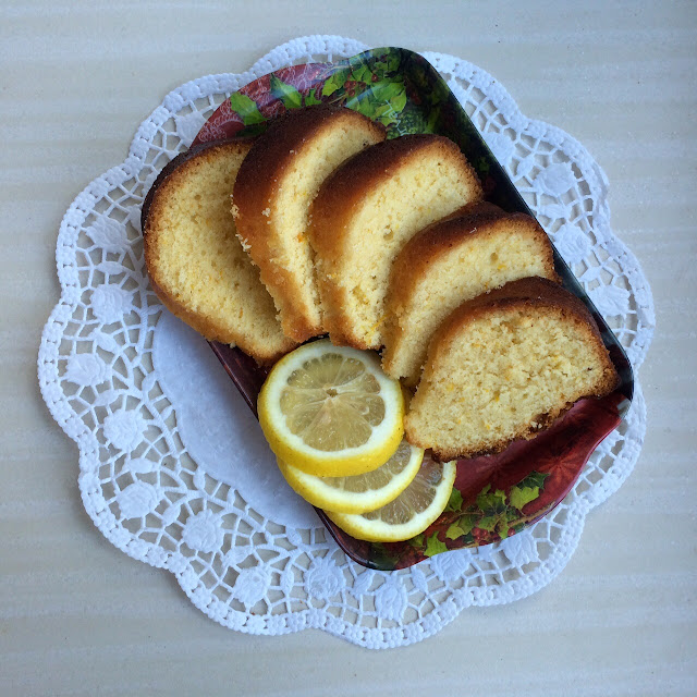 Фунтовый лимонный кекс