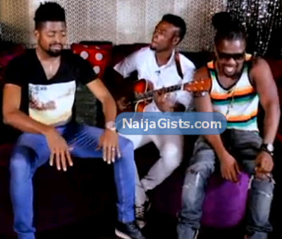 basketmouth singing reggae music