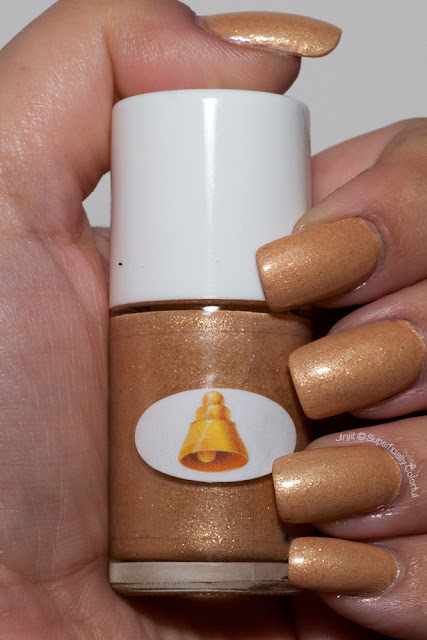 The Nail Junkie - Gold Bell