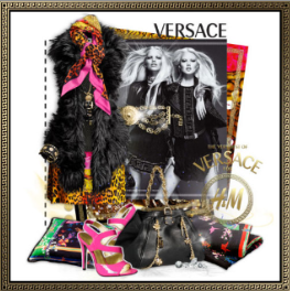 H&M+Versace+Collection