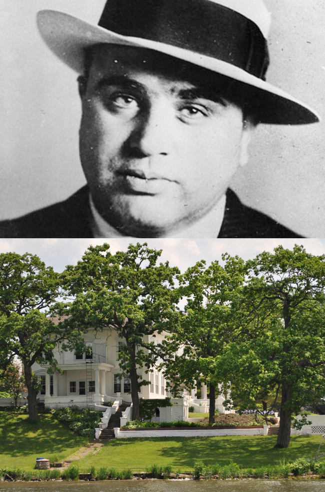 Al Capone summer house chain o' lakes