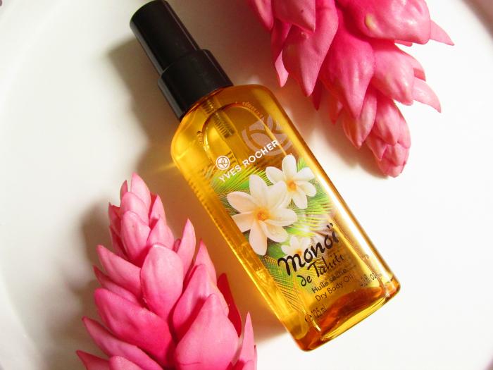 Review: Yves Rocher - Monoi de Tahiti Dry Body Oil