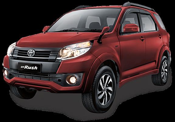 Toyota New Rus Warna Dark Red