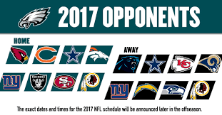 2017 Eagles Opponents