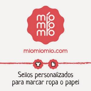 Sello marcador ropa MioMioMio