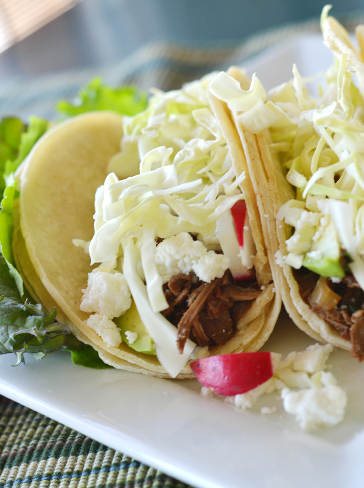 The World in My Kitchen: Slow-Cooker Shredded Beef Tacos