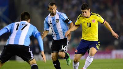 Copa America 2015 Quarterfinal: Argentina vs Colombia Live Stream