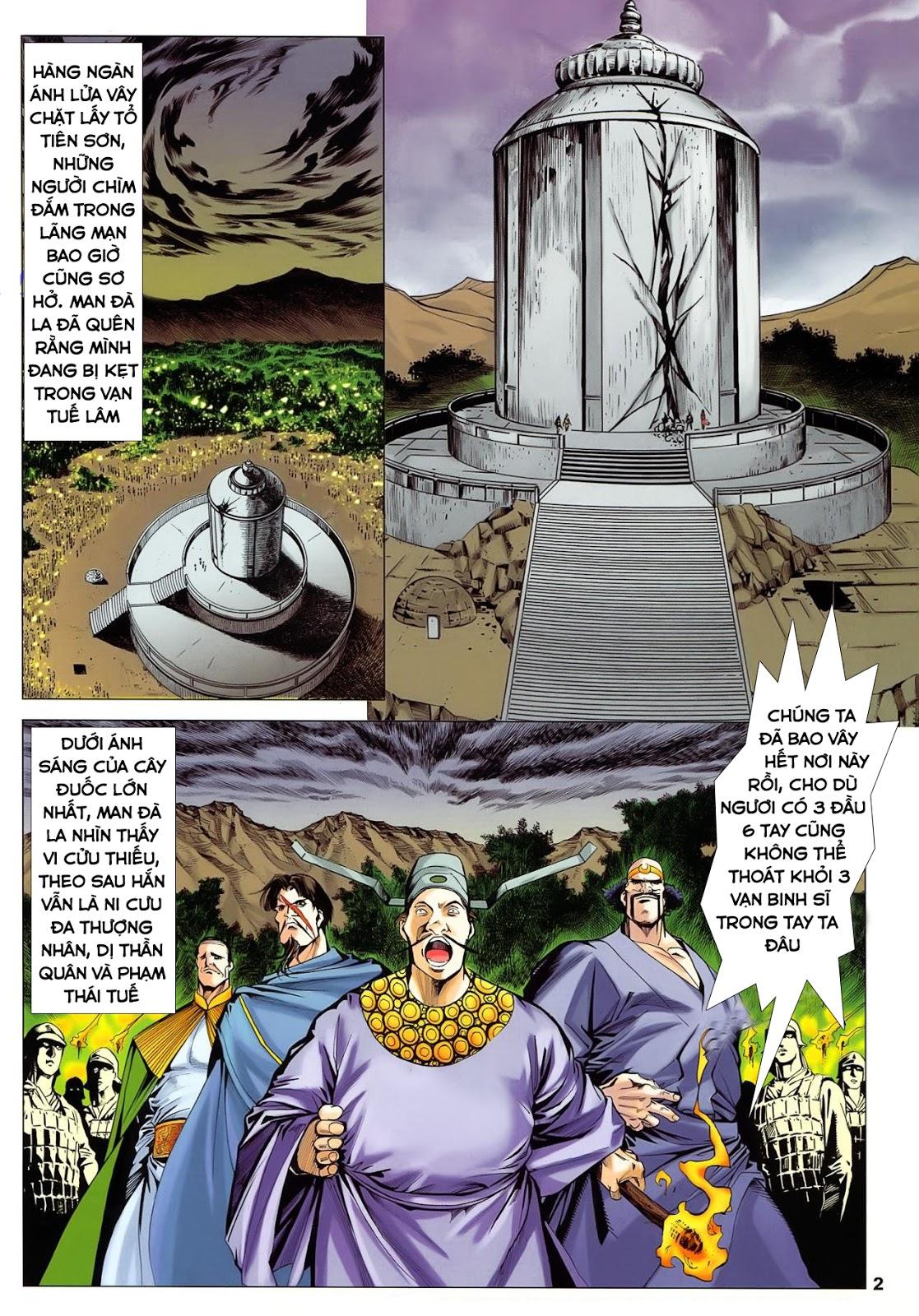 Lục Đạo Thiên Thư chap 36 - Trang 2