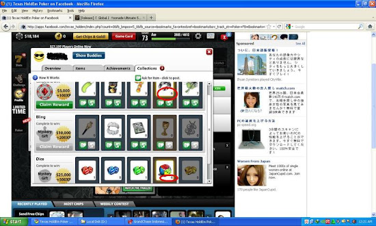 Cheat Game Zynga Poker Hack Collection Terbaru 2013