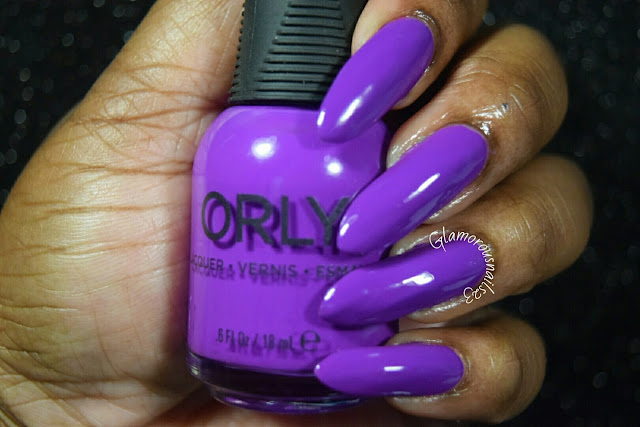"Orly Adrenaline Rush ""Be Daring"" Swatch"