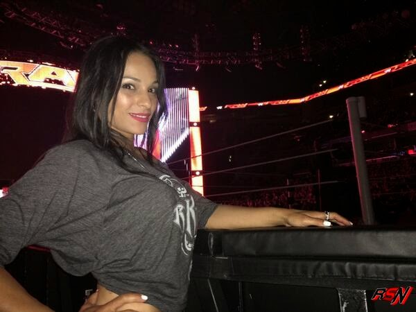 Randy Orton's Girlfriend at Monday's RAW.