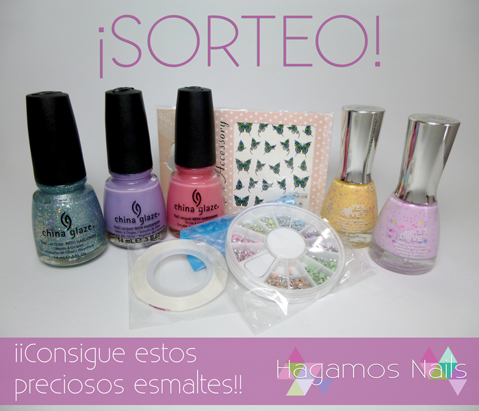SORTEO DE HAGAMOS NAILS