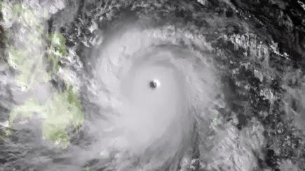 Gambar Taufan Haiyan