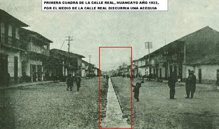 1ra. Cuadra Calle Real 1922