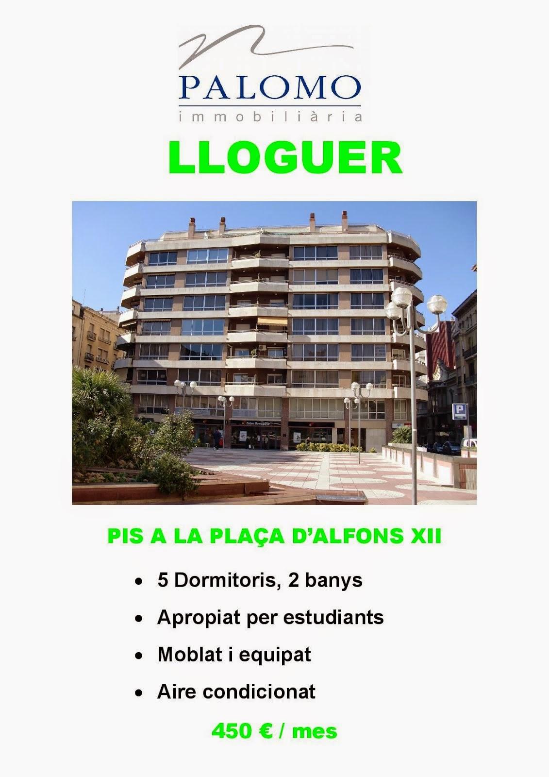 PIS A LA PLAÇA D'ALFONS XII