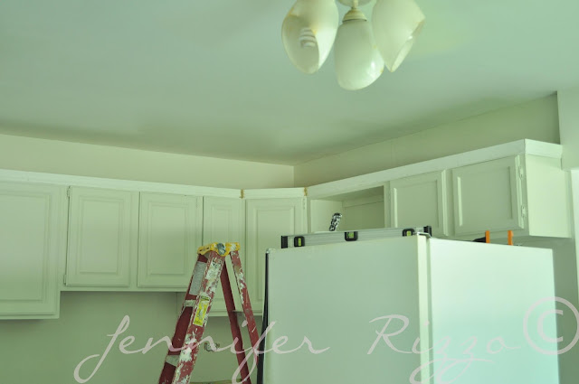 Add trim to update your cabinets