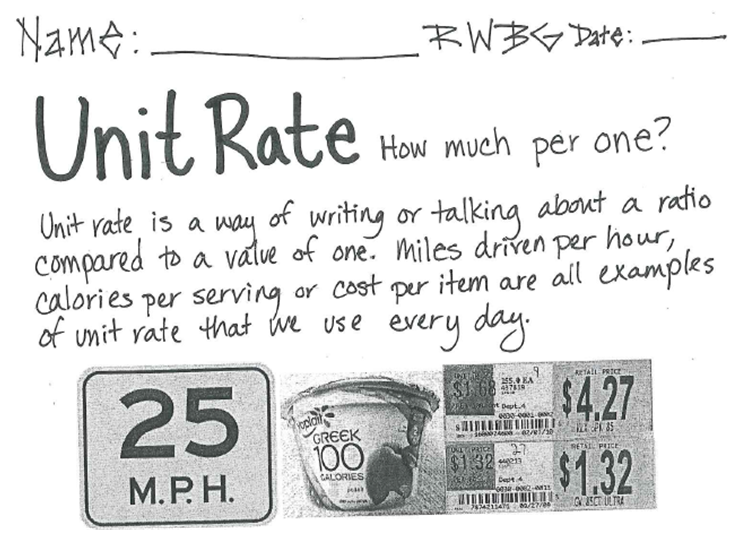 Miss Kahrimaniss Blog Unit Rate – Unit Rate Word Problems Worksheet