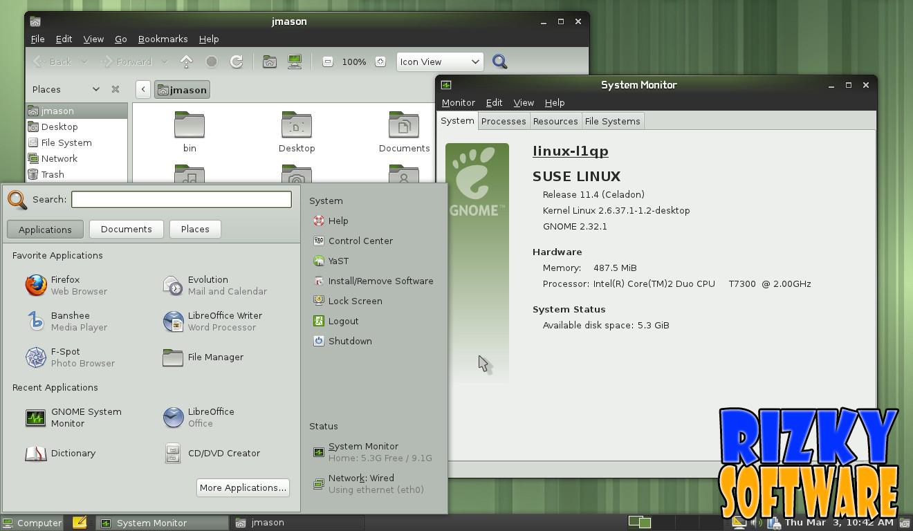 Download openSUSE 11.4 DVD i586 Full Iso Terbaru