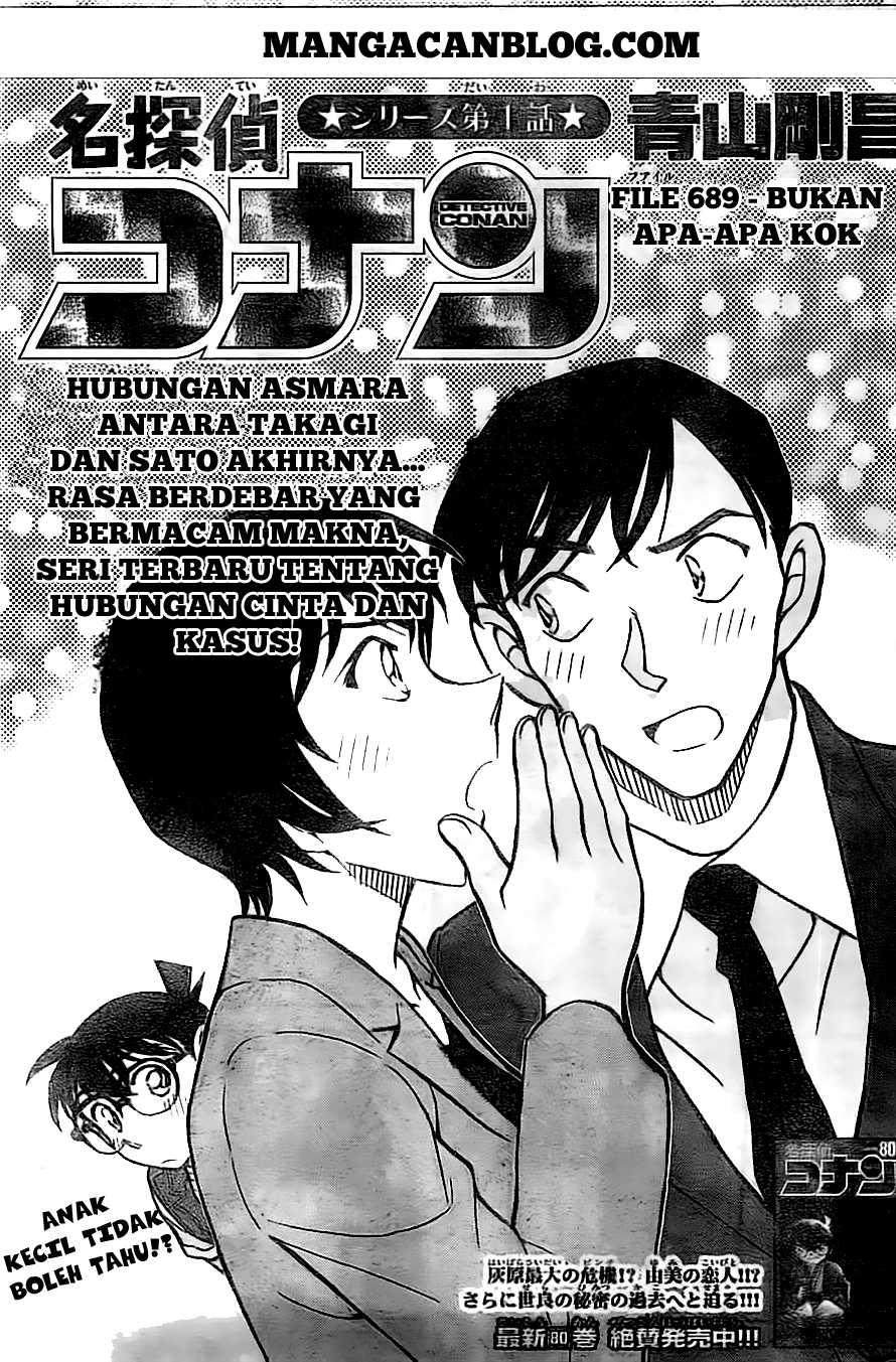 Komik detective conan 869 - bukan apa apa kok 870 Indonesia detective conan 869 - bukan apa apa kok Terbaru 1|Baca Manga Komik Indonesia