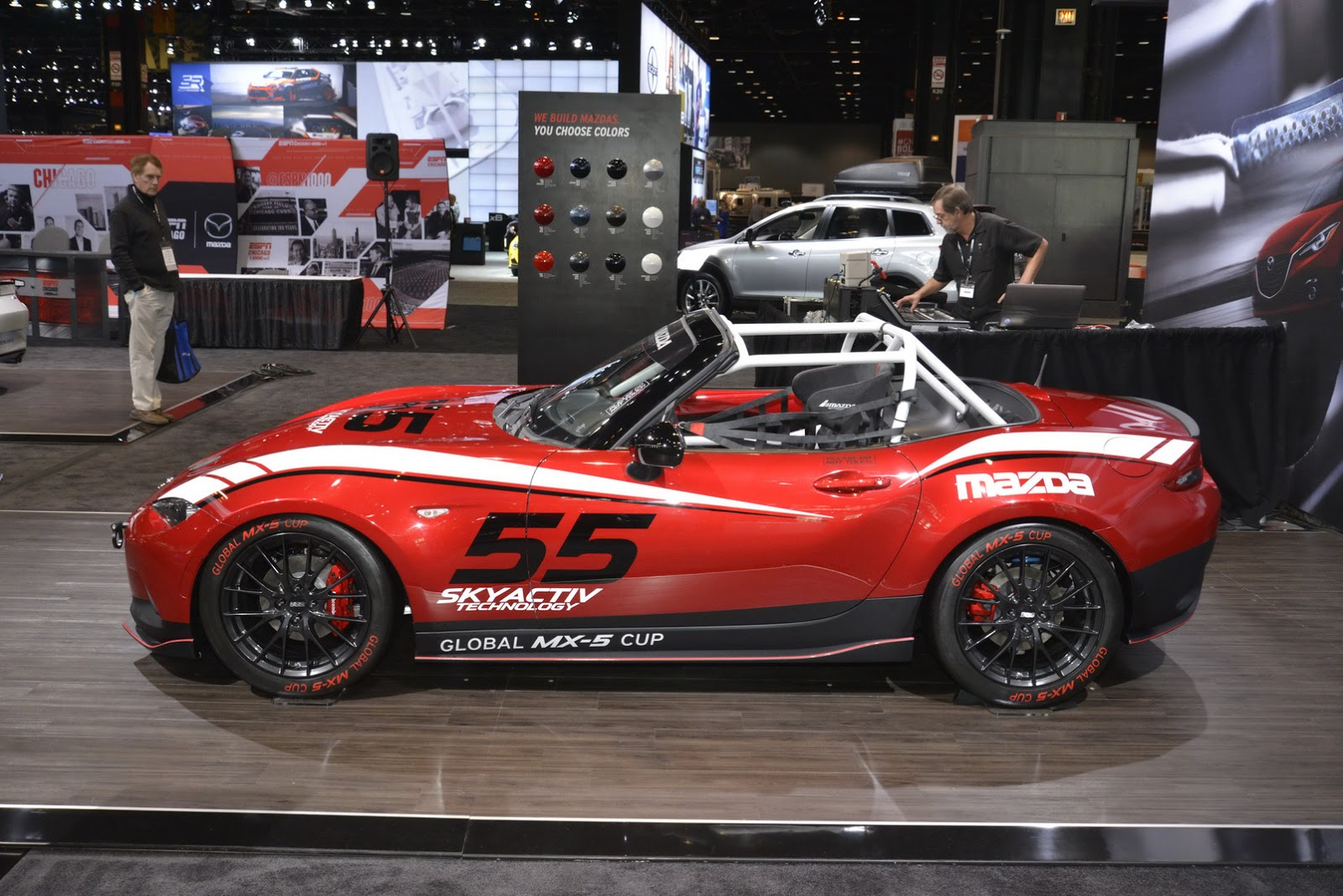 new 2016 mazda mx 5 looks so much better with a sports kit. Black Bedroom Furniture Sets. Home Design Ideas