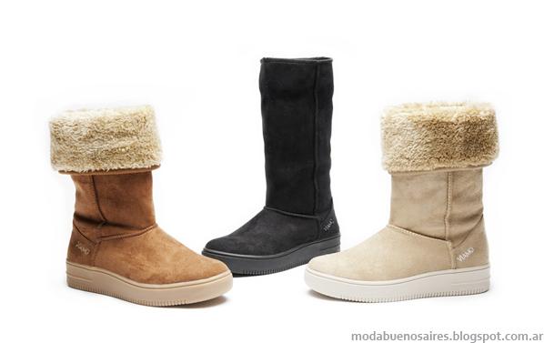 Zapatos botas de mujer invierno 2013