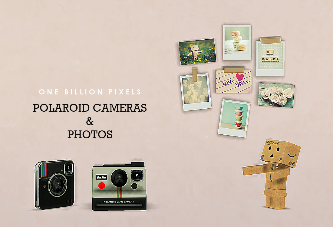 Polaroid Cameras Photos Ts3 One Billion Pixels