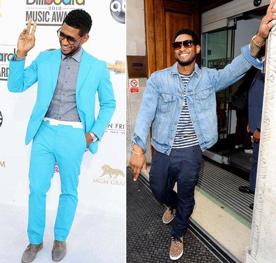 Usher Fashion Style