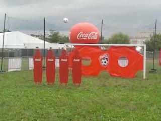 Centrum sportu na Coke Life Music Festival 2012